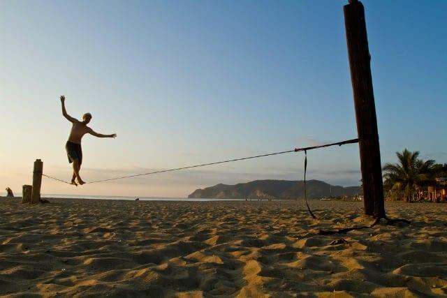 Slackline: 5 motivos para você começar a praticar agora!