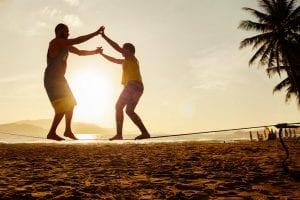 Os maiores benefícios dos treinos de equilíbrio