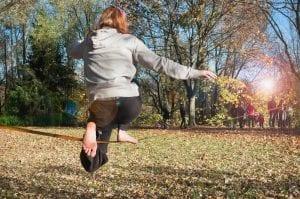 Slackline: um dos melhores exercícios para aumentar a concentração