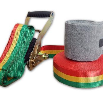 Kit Slackline Iniciante Wave Start Fun 10 metros